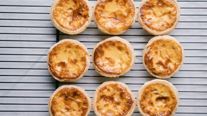 Hokkaido Baked Cheese Tart – Product Video & Photography